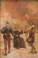 Febo Moniz, Padre António Vieira, D. Luís de Meneses (Conde da Ericeira), e João Pinto Ribeiro (1926) - Columbano Bordalo Pinheiro (Palácio de São Bento).png