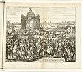 Feestelijke intocht van Farnese na het ontzet van Parijs, 1590 Festes triomphales que Paris fit à Alexandre Farnese pour l'avoir delivré du blocus et secour (titel op object) Guerres de Flandres (serietitel), BI-1929-10-27.jpg