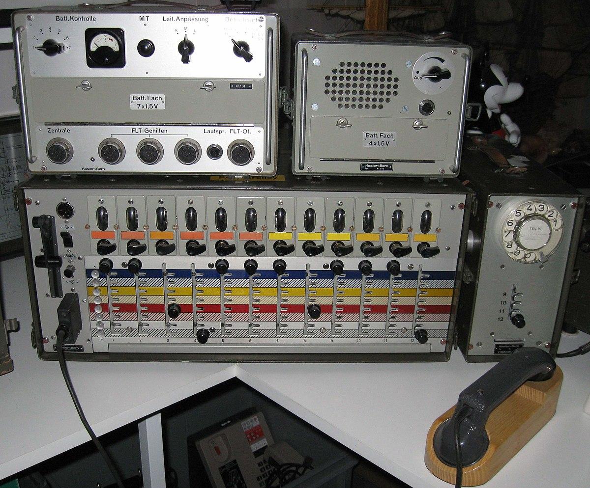 Feld-Telefonzentrale 1957 – Wikipedia