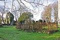 Fenced graves - Parish Church of St. Illtyd - Llantrithyd - geograph.org.uk - 1615797.jpg
