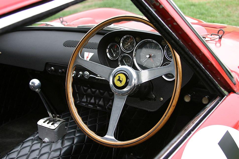 Ferrari 250 GTO ser. no. 3647GT interior