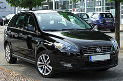 Fiat Croma II Facelift front 20100717.jpg
