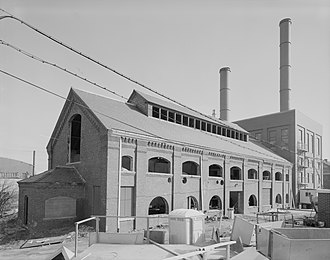 Office of City Engineer, Providence - Chemical Building, Field's Point Wastewater Treatment Facility