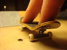 Fingerboard Skateboard Wikipedia