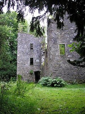 Finlarig Castle - The ruins of Finlarig Castle