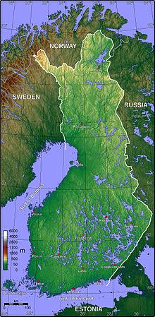 indbyggertal i finland