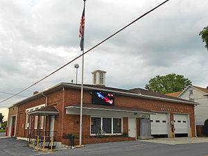 Bressler, Pennsylvania - Fire station