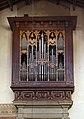 Firenze, santa croce, interno, organo sud di Onofrio Zeffirini, 1579.jpg