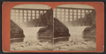 First Falls and Bridge, from Robert N. Dennis collection of stereoscopic views.png