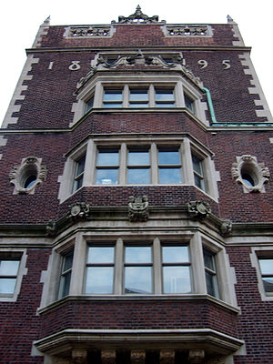 Quadrangle Dormitories (University of Pennsylvania) - Class of '87 House contains the office of the Fisher Hassenfeld College House.