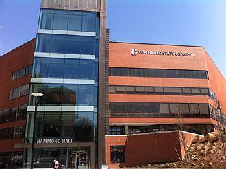 Fitchburg State University - Image: Fitchburg State University Hammond Building
