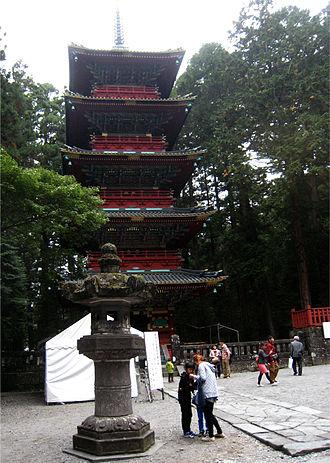 Nikkō Tōshō-gū - Five-story pagoda at Nikkō Tōshō-gū