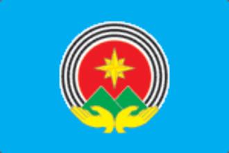 Minyar - Image: Flag of Minyar (Chelyabinsk oblast)