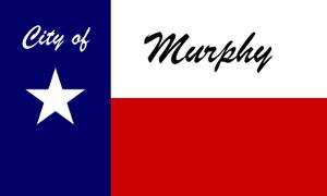 Murphy, Texas - Image: Flag of Murphy, Texas