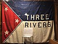 Flag of Three Rivers at the St. Joseph County Historical Society.jpg