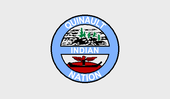 The Quinault Indian Nation Flag. Credit to Xasartha for the creation of this work.