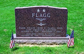 United States Naval Academy Cemetery -  Grave of Wilson F. Flagg