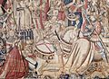 Flemish - Meleager and Atalanta Setting Out to Hunt the Calydonian Boar - Walters 829 - Detail A.jpg