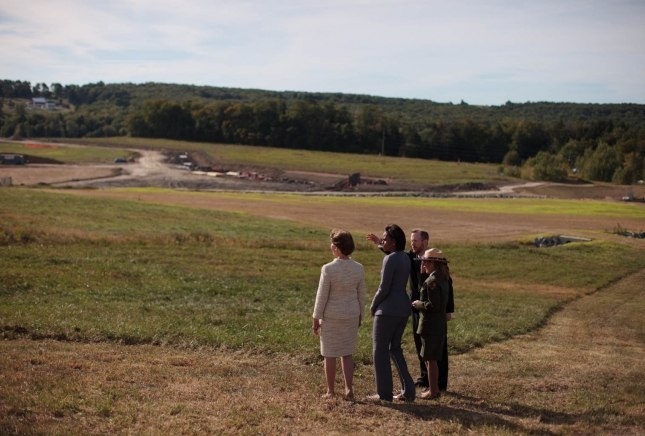 Flight 93 site 091110
