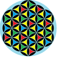 Flower of life 4-color triangles2.png