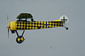 Fokker D.VIII Lt See Gotthard Sachsenberg Low Pass 05 Dawn Patrol NMUSAF 26Sept09 (14413276770).jpg
