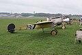 Fokker EIII Oblt Schildknecht RSide Dawn Patrol NMUSAF 26Sept09 (14413328369).jpg