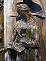Fonte battesimale di siena, c, donatello, fede, 1427, 05.JPG