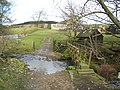 Footbridge near Dinkling Green Farm - geograph.org.uk - 112360.jpg