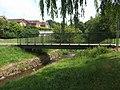 Footbridge over the Waterhead Brook - geograph.org.uk - 1899580.jpg