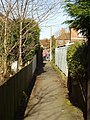 Footpath from Ash Avenue to St Annes Road, Headingley - geograph.org.uk - 140985.jpg