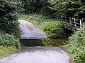 Ford through Coundmoor Brook - geograph.org.uk - 47636.jpg