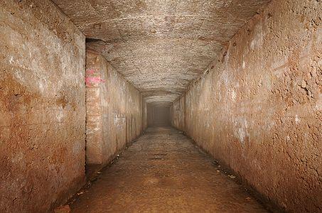 Underground in Fort de Roppe.