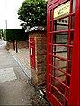 Foxearth George V Postbox (geograph 4039301).jpg
