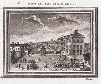 Hôtel de Langeac - Image: François Nicolas Martinet, Site of Hotel d'Langeac, Jefferson's residence in Paris Lehigh University Library