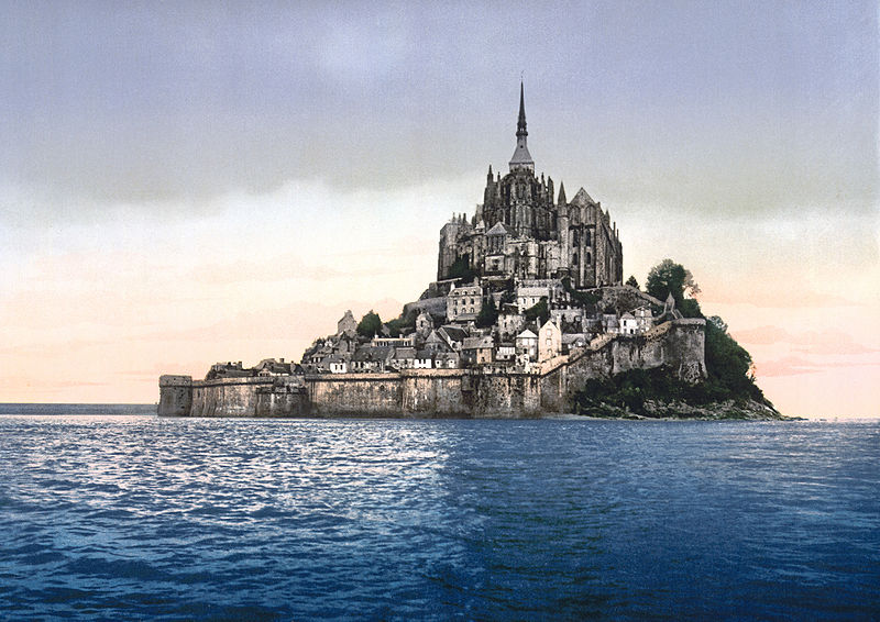 Fichier:France-Mont-Saint-Michel-1900 bordercropped.jpg