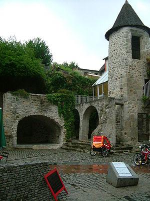 Aubusson, Creuse - Tabard square, Aubusson.