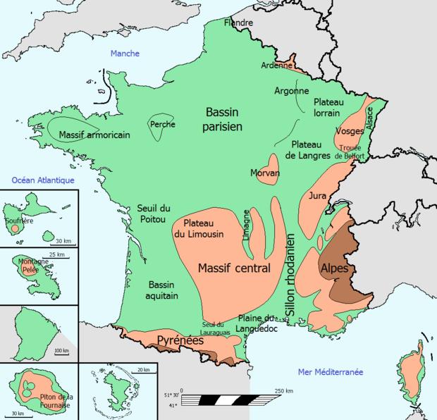 Cartina Fisica Di Parigi.Bacino Parigino Wikiwand