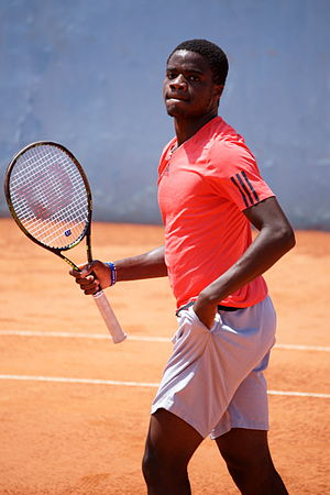 Frances Tiafoe - Frances Tiafoe at 2015 Open de Nice Côte d'Azur