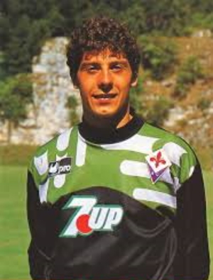Francesco Toldo - Toldo with Fiorentina in 1993