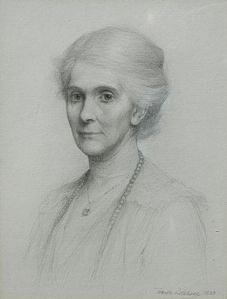George Lyttelton, 4th Baron Lyttelton - Hon. Lavinia Lyttelton (1920) by Frank Bernard Dicksee