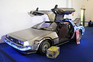 delorean retour vers le futur wikip dia. Black Bedroom Furniture Sets. Home Design Ideas