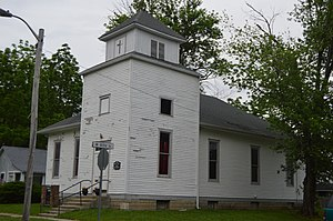 National Register of Historic Places listings in Johnson County, Indiana - Image: Franklin Bethel AME