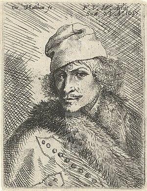 Frans van den Wyngaerde - Self-Portrait