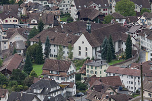 Schwyz - Image: Frauenkloster www.f 64.ch 1
