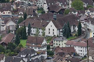 Schwyz Place in Switzerland