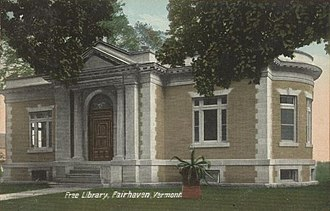 Fair Haven, Vermont - Image: Free Library, Fair Haven, VT