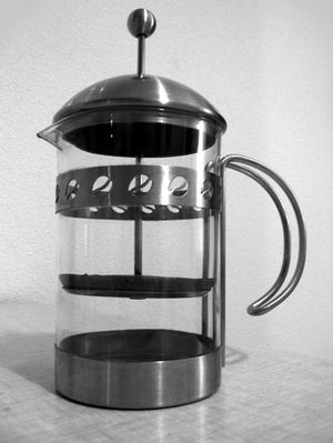 Cafetière/French press.