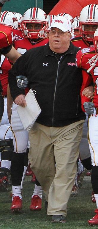 Ralph Friedgen - Friedgen in 2010