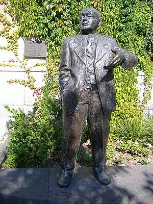 Fritz Steinhoff - Monument to Fritz Steinhoff at Friedrich-Ebert-Platz in Hagen