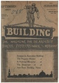 Front page of Building, the magazine for the architect, builder, property owner and merchant, September 1907.pdf